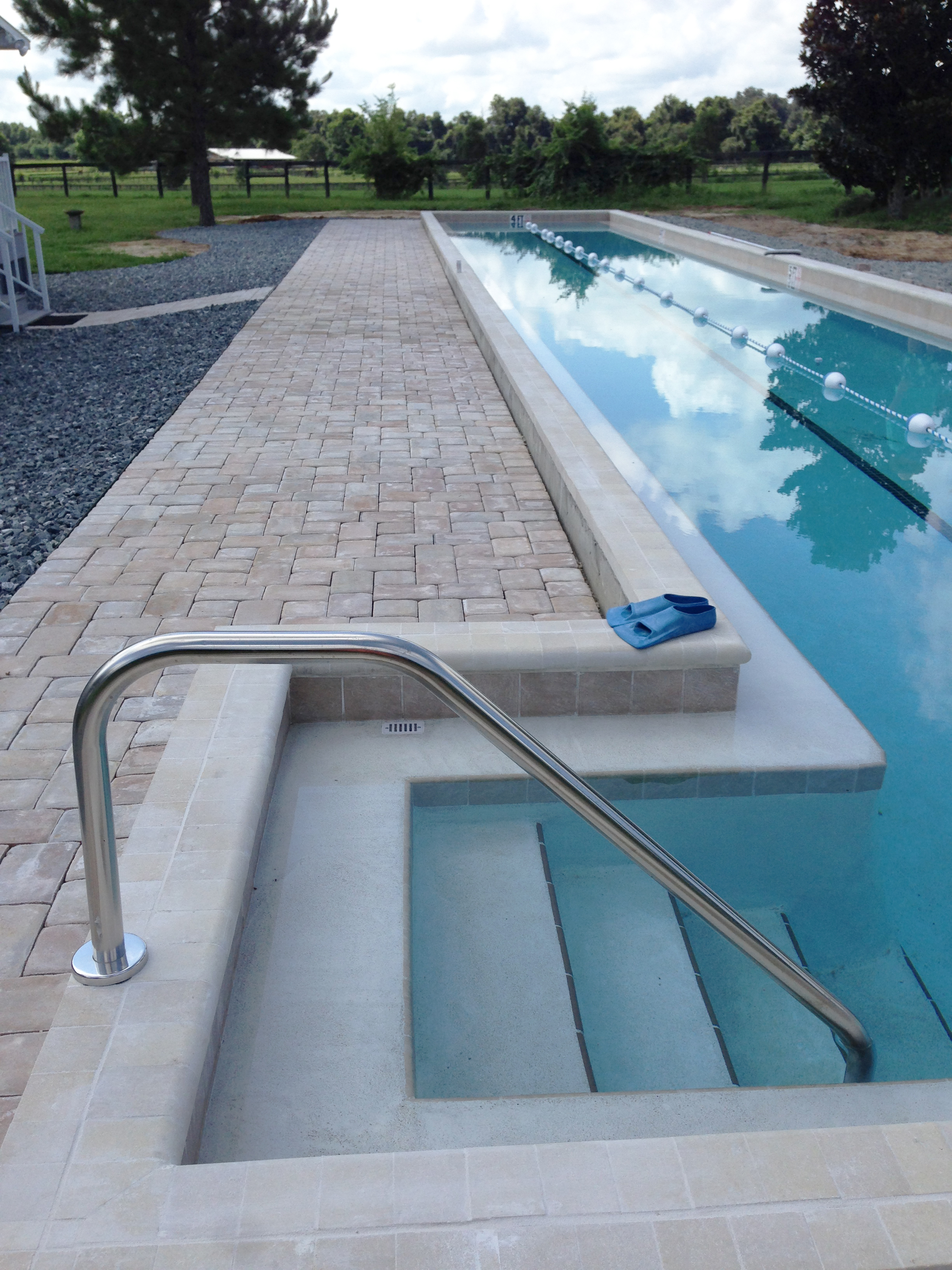residential lap swimming pool